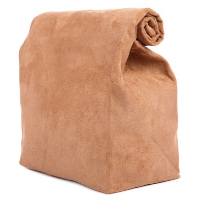 Striiiipes - Feature product picture - My Suede Lunch Bag