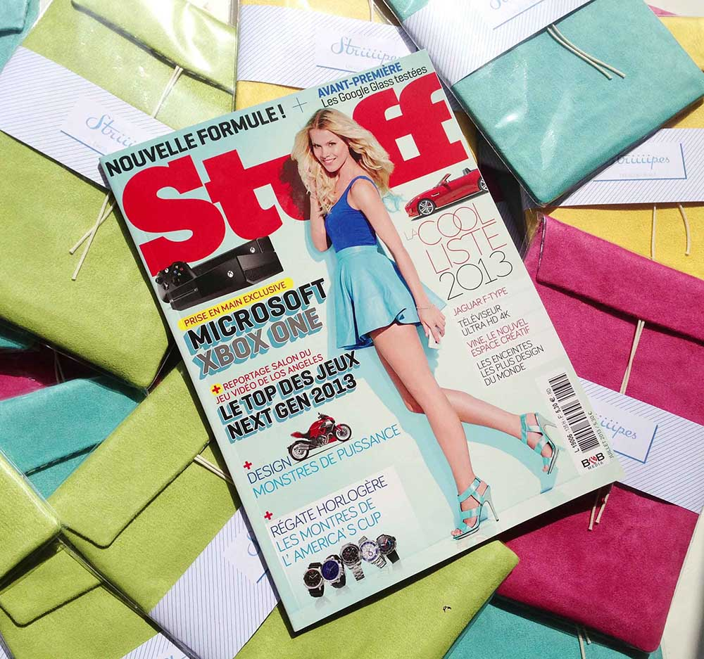 Striiiipes - Stuff Magazine 3