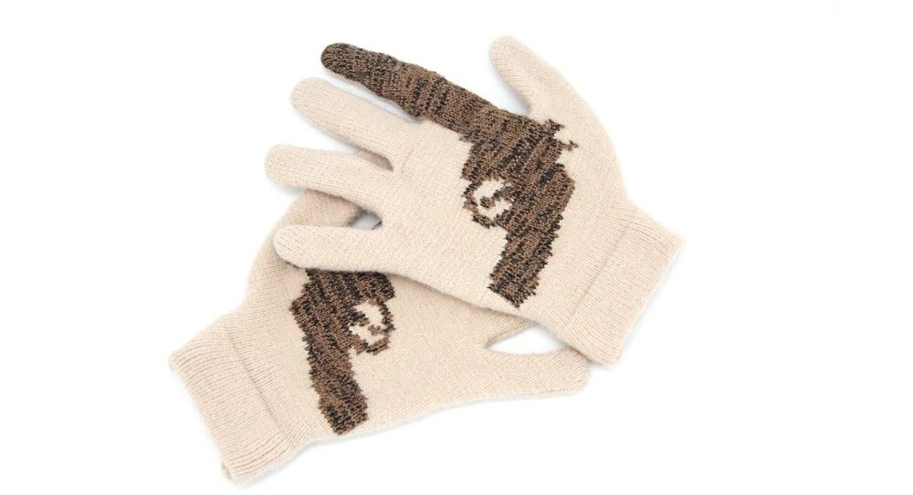 Striiiipes - Cashmere Gun Gloves 3