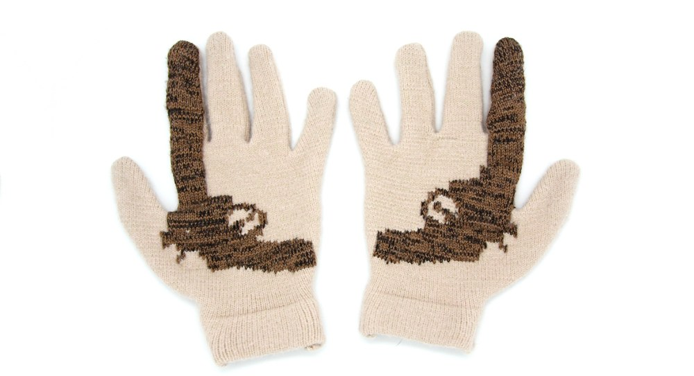 Striiiipes - Cashmere Gun Gloves 4