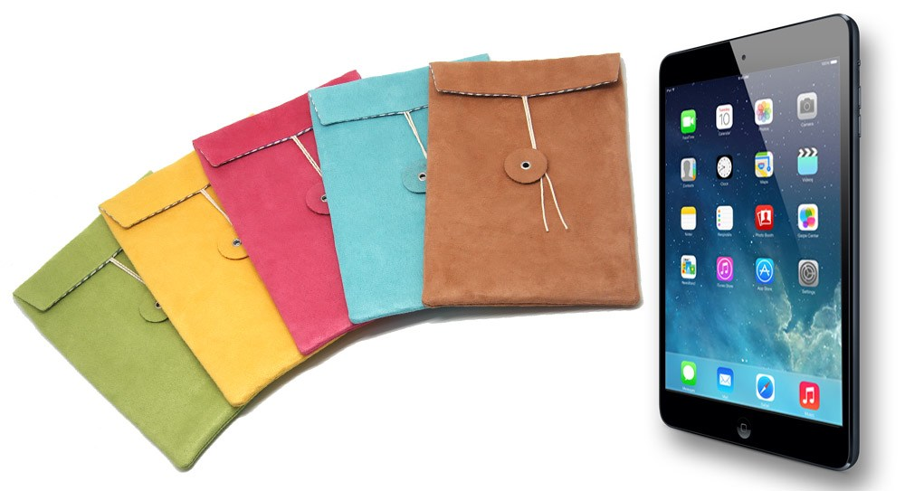 Striiiipes - My iPad Mini Envelope new with brown