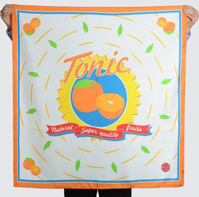 Striiiipes - Feature product picture - Agrum Scarves Collection - Tonic Scarf