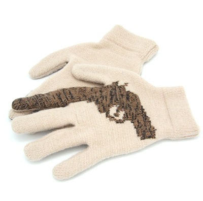 Striiiipes - Feature product picture - Cashmere Gun Gloves