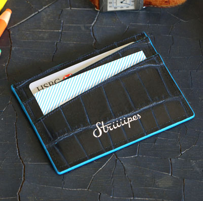 Striiiipes-cardholder-feature-product-dark-blue-crocodile-embossed-leather-cardholder 2