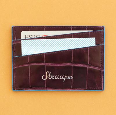 Striiiipes-exotic-leather-cardholder-feature-product-purple-crocodile-cardholder-2