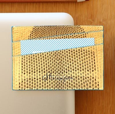Striiiipes-exotic-leather-cardholder-feature-product-yellow-sea-snake-leather