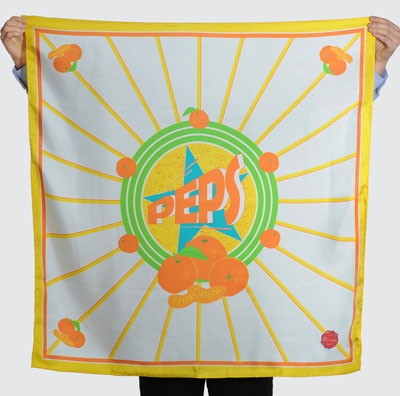 Striiiipes - Feature product picture - Agrum Scarves Collection - Peps Scarf