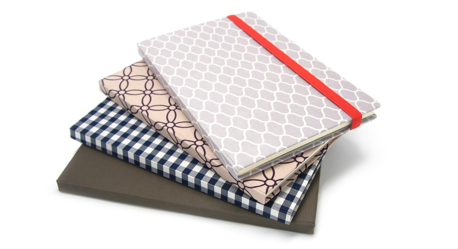 fabric notebooks striiiipes
