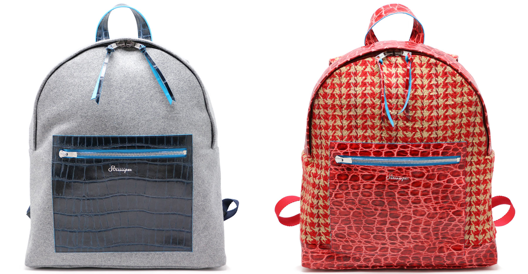 Striiiipes-Wool-and-croco-backpack-collection---Homepage