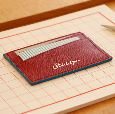 Striiiipes-cardholder-feature-product-Red-textured-leather-cardholder 2