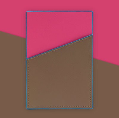 Striiiipes---Feature-product-picture---NFC-Leather-Cardholder-Collection---Brown-Pink-NFC-Leather-Cardholder