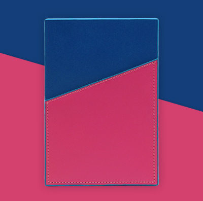 Striiiipes---Feature-product-picture---NFC-Leather-Cardholder-Collection---Pink-Blue-NFC-Leather-Cardholder