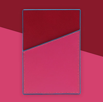 Striiiipes---Feature-product-picture---NFC-Leather-Cardholder-Collection---Pink-Burgundy-NFC-Leather-Cardholder