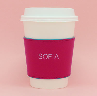 Striiiipes---Feature-product-picture---Pink-Leather-Coffee-Cup-Holder